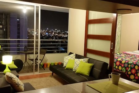 Central & cozy. Pool, Gym & View - Lima - Apartment
