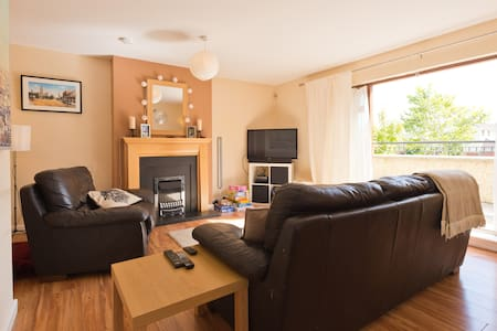 There are two double rooms available. Each can accommodate two guests.  Ideal for families or groups visiting Dublin and the east coast of Ireland.  Greystones is close to the N11 motorway and there are regular train services to Dublin.