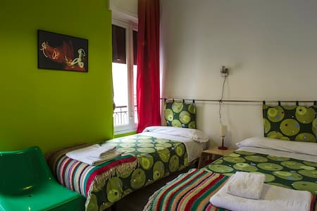 Double room4 in Pension Blanca B&B - Bed & Breakfast