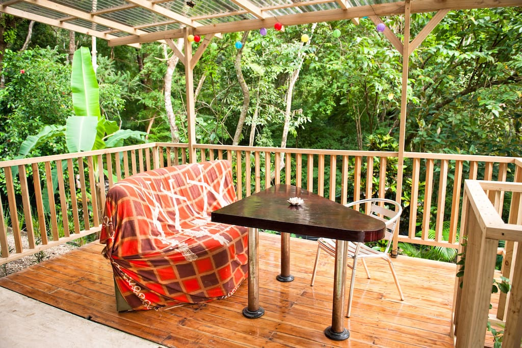 Have a coffee in the jungle?