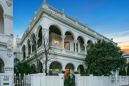 Victorian Mansion on St Kilda Beach - Middle Park