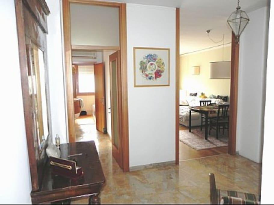 Comfortable big top floor apartment
