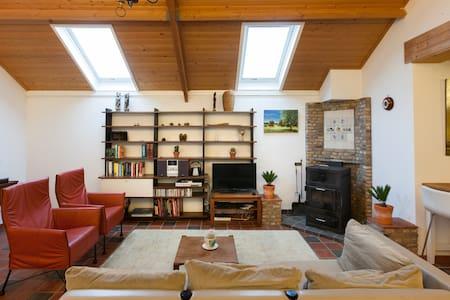 Rustig gelegen natuurhuisje met prachtig uitzicht - Loerbeek - Apartment