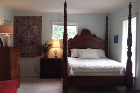 Comfortable master bedroom - Saint Simons Island - Σπίτι