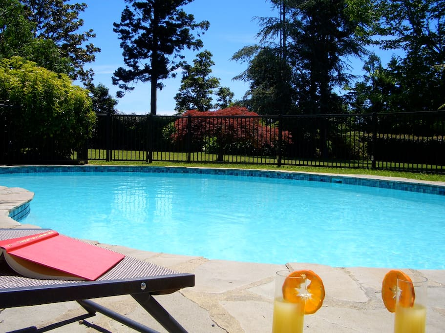 Beautiful pool and gardens.  Your piece of paradise in the beautiful Bay of Islands.