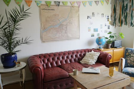 Spacious, bright, cosy & bohemic - Flat