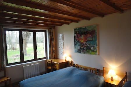 Grande Chambre la Ferme de Wolphus - Bed & Breakfast