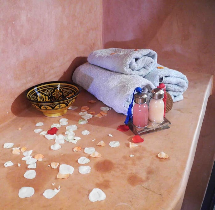 Our bathrooms come complete with towels and complimentary toiletries.