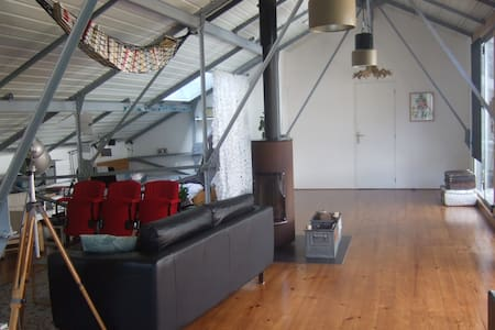 Large room in a LOFT with Breakfast