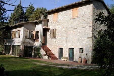 Antique stone house, Perugia Umbria