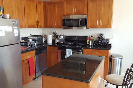Cozy & modern waterfront apartment - San Mateo - Apartment