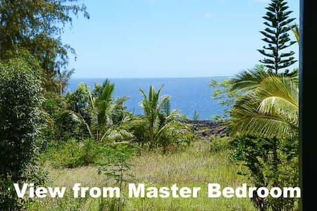 Hale Bacopa - Perfectly Private, Big Ocean View & Room For 6!