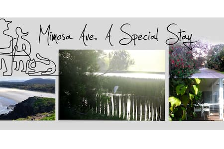 Mimosa Ave. A special stay. - Rumah