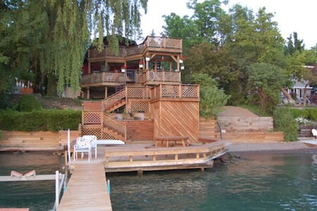 Gorgeous Lake Home Spectacular View - Skaneateles - Rumah