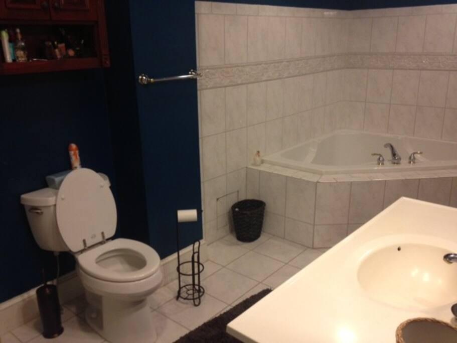 2nd Floor Suite in 3 Bedroom House