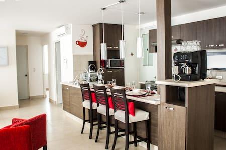 Clean All-New Modern looking Apt. - León - Apartment