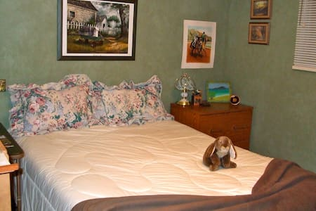 One room, queen bed,  Fort Langley - Talo