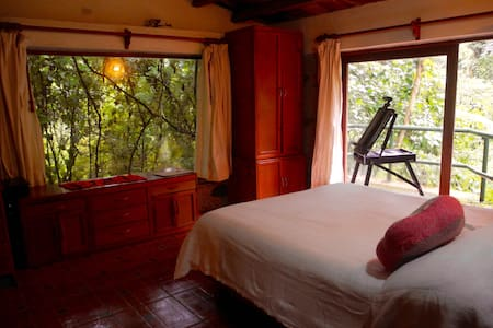 Hermosa Cabaña a orilla del Rio - Xico - Chalet