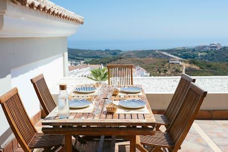 Casares Malaga, Mediterranean Views - Wohnung