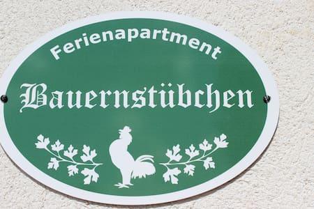 Ferienapartment Bauernstübchen - Apartment