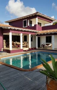Villa aan het water in Bonaire