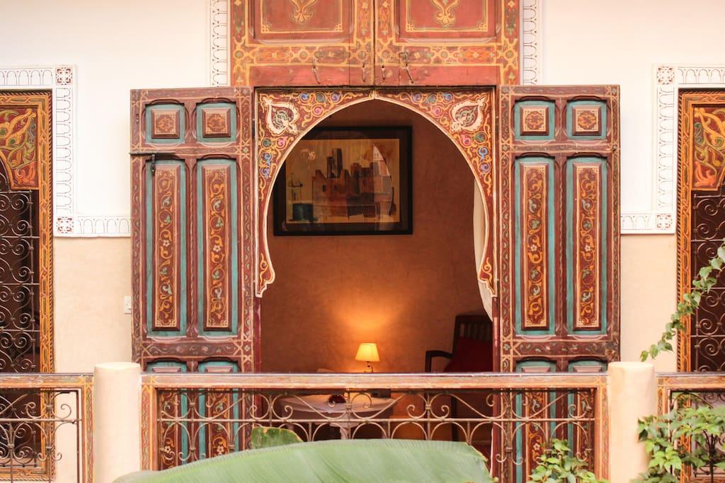Suite Cannelle entrance