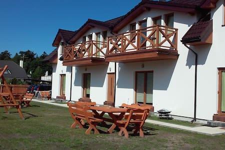 Pokój dwuosobowy w Domu nad morzem Sosenka - Dormitorio compartido