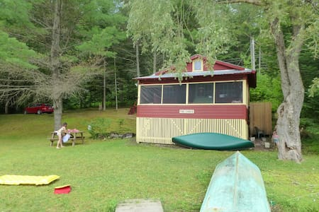 Woodbury Lake Cabin - Srub