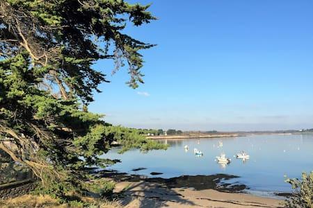 Maison entre mer et golfe du Morbihan - Ambon