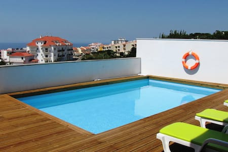 Studio with terrace and Swimming Pool - Ericeira