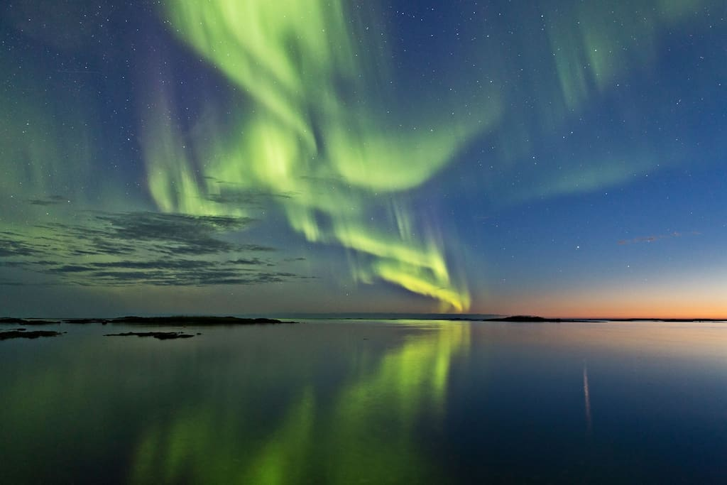 Come see the northern lights in Luleå!