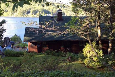 Lakeside Adirondack Home - Haus