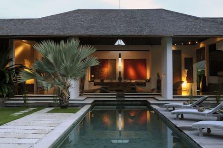 minimalist villa, heart of seminyak