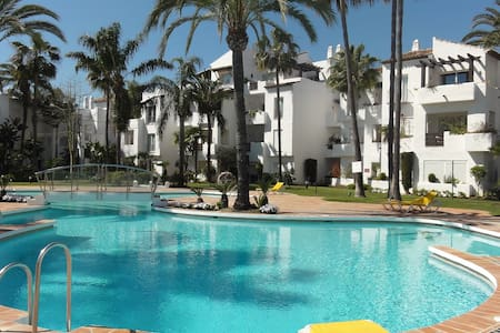 Garden apartment close to beach - Estepona - Wohnung