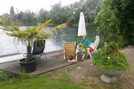 Prachtige Betuwe plek aan het water - Szoba reggelivel