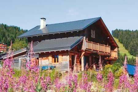 French Alps chalet with huge garden