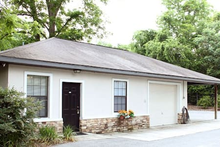 Hydro Lodge is located in the historic town of High Springs, Florida.  The lodge caters to outdoor enthusiasts who enjoy activities such as scuba diving, canoeing/kayaking, swimming, fishing, hiking and biking.