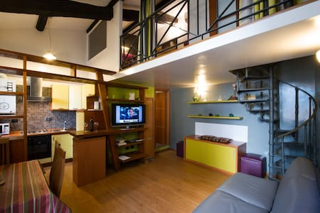 Comfortable loft in Pantheon zone