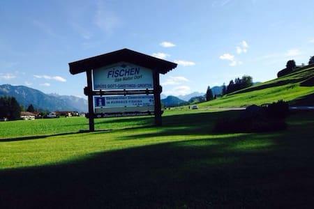Urlaub in Fischen i.A. , Bergblick - Pis