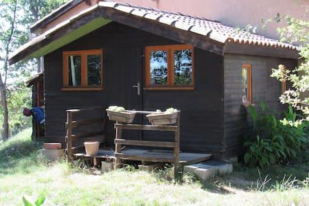 Chalet atypique en lisière de forêt - Haus