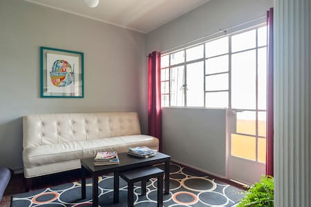 This appartment is located in the heart of Polanco's district. It's very luminous, 2 bedrooms, 1 bathroom, kitchen, dining, living room and a balcony. Walking distance from restaurants, museums, Masaryk Av. and the Hotel Strip of Campos Eliseos.