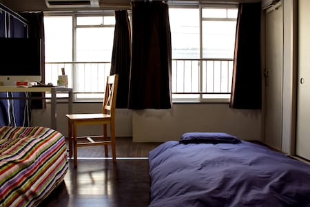 Shared room Futon+ABF 20min to Ueno