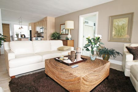 Spacious 3 bed 3 bath Beach condo - 아파트
