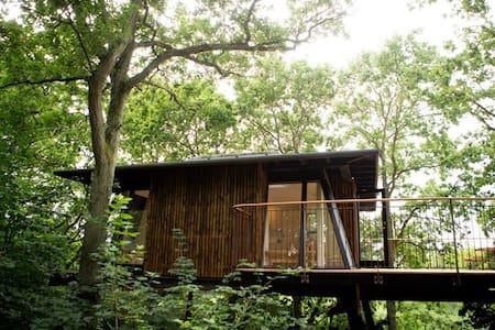 Unik romantisk overnatning for to - Kirke Hyllinge - Cabana en un arbre