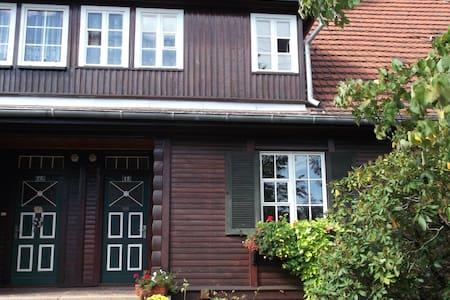 Wohnen im Holzhaus - Niesky - Departamento