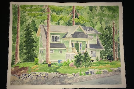 A Beautiful Craftsman View Home on Two Acres. - Bowen Island - House