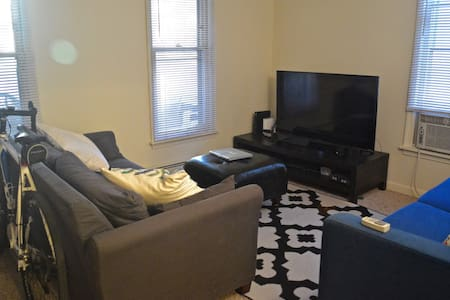 Main Street 1BD Apt w/ Parking