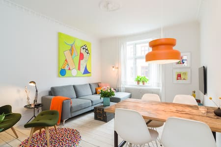 Close to City & Metro, with balcony - København S - Apartment