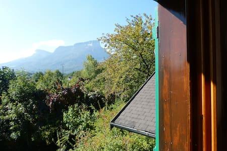 Belle vue, sur la route de l'Italie - Myans - Haus