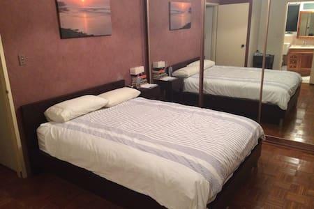 Main Bedroom + Ensuite + Car Park